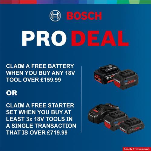 Bosch 18V GSB18V-55 Combi Drill & GDR18V-160 Impact Driver (2x 4Ah)