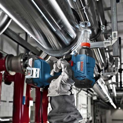 Bosch 18V Dynamic Set: GSB18V-28 + GDX18V-180(2x 4Ah)