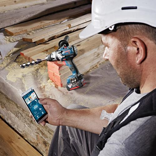 Bosch GSB18V-85C + GDX18V-200C 18V Robust Brushless Set (2x 5Ah)
