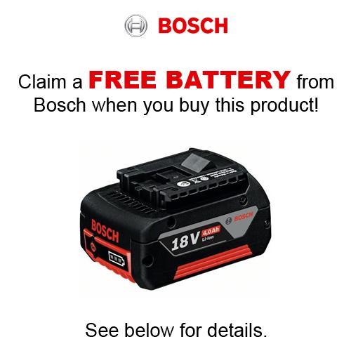 Bosch GSR18V-85C 18V Robust Brushless Drill Driver (2x 5Ah)