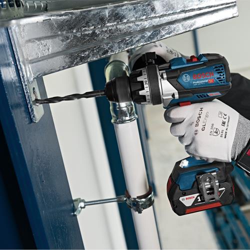Bosch GSR18V-85C 18V Bluetooth Brushless Drill Driver (2x 8Ah ProCore)