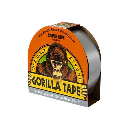 Gorilla Tape (Silver) 32m x 48mm