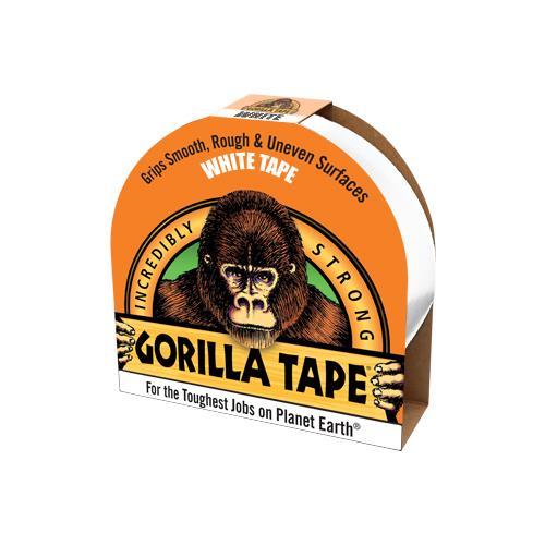 Gorilla Tape (White) 27m x 48mm
