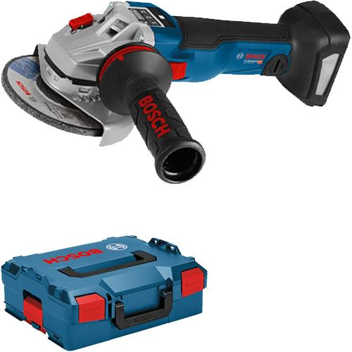 Bosch GWS18V-10SC 18V Brushless 115mm Angle Grinder (Naked in L-Boxx)