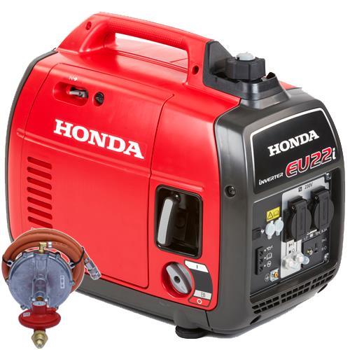 Honda EU22i 2.2kW Portable Quiet Inverter Generator (LPG)
