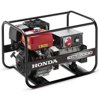 Honda ECT7000 3-Phase Open Frame Generator (7000w)