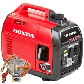 Honda EU22i 2.2kW Portable Quiet Inverter Generator (LPG Door-Mounted)