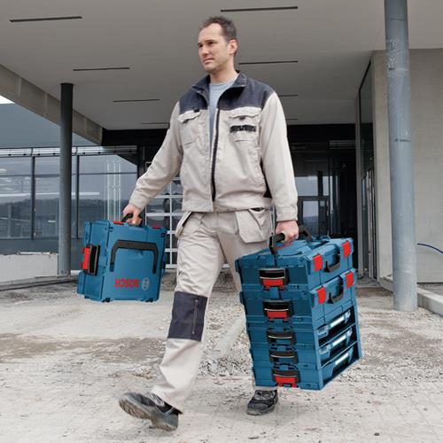 Bosch 117pc i-Boxx Accessory Set with i-Rack