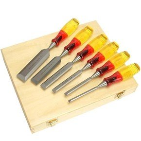 Irwin Marples M373 Splitproof Bevel Chisel Set (6pc)