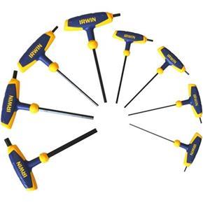Irwin T-handle Allen Key Set (8pcs)