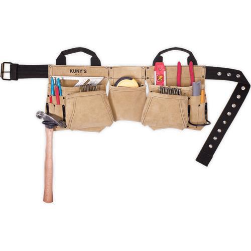 Kuny's 11-Pocket Leather Carpenters Apron