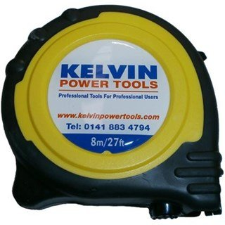 Kelvin Power Tools 8m Tape Measure