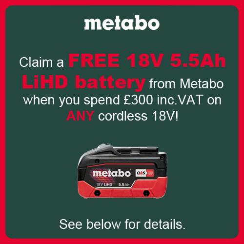 Metabo BS18LT 18V Drill Driver (Naked)