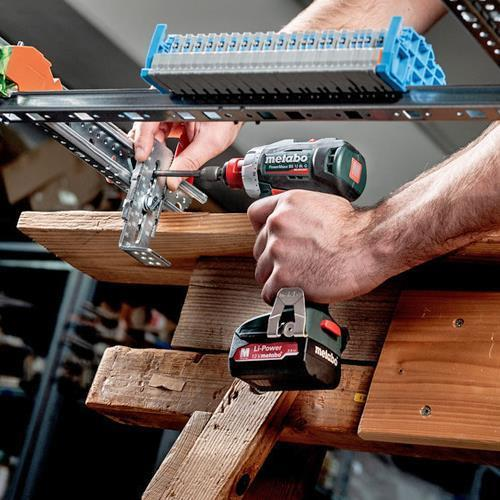 Metabo 12V Brushless Set: BS12BLQ + SSD12BL (4Ah LiHD, 2Ah)