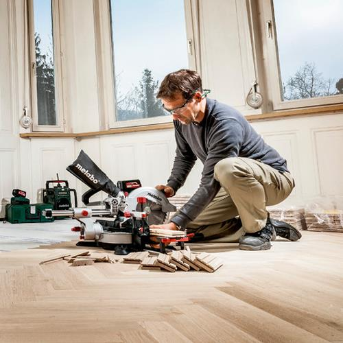 Metabo KGS18LTX 216mm Cordless Mitre Saw (Naked)