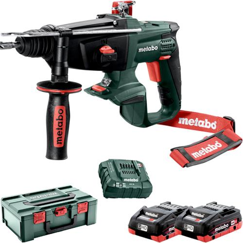 Metabo KHA 18 LTX 18V SDS Drill (2x 4Ah LiHD)