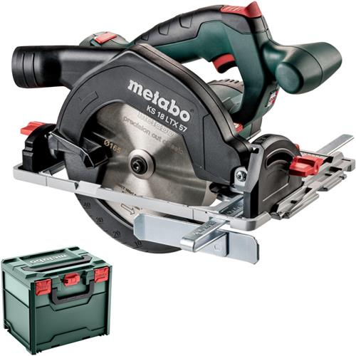 Metabo KS18LTX57 18V 165mm Circular Saw (Naked, MetaLoc Box)