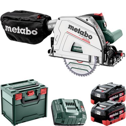Metabo KT 18 LTX 66 BL 18V Plunge Saw (2x 8Ah LiHD)