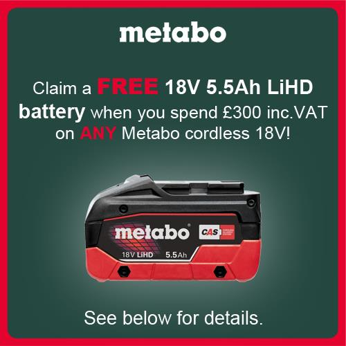 Metabo MT18LTX 18V Multi-Cutter (2x 5.5Ah LiHD, Accs, MetaLoc Box)
