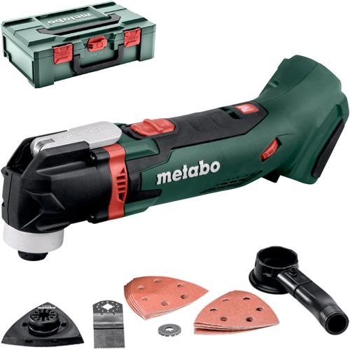 Metabo MT18LTX 18V Multi-Cutter (Naked, Accs, MetaLoc Box)