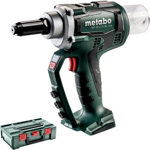 Metabo NP 18 LTX BL 5.0 18V Brushless Rivet Gun (Naked)