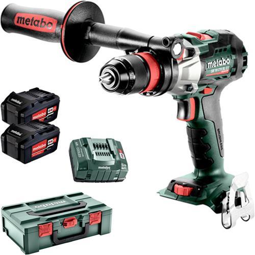 MetaboSB 18 LTX BL Q I 18V Brushless Combi Drill (2x 5.2Ah)