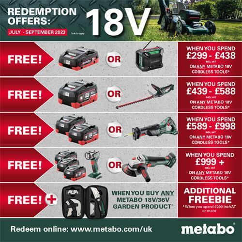 Metabo SSE 18 LTX 18V Compact Sabre Saw (2x 5.5Ah LiHD)