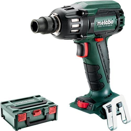Metabo SSW 18 LTX 400 BL 18V High-torque Impact Wrench (Naked MetaBox)