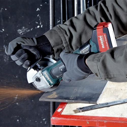 Metabo W 18 LTX 115 Quick 18V 115mm Angle Grinder (Naked, MetaBox)