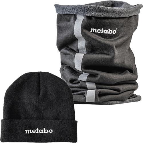 Metabo Beanie Hat & Snood Set