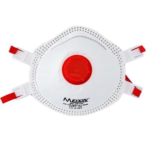 Meixin MX-2014V Disposable Valved FFP3 Masks (5pk)