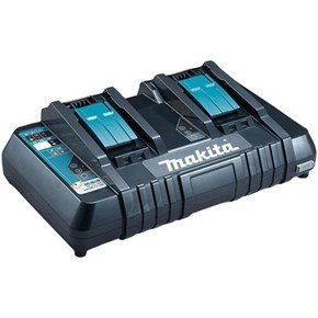 Makita DC18RD 14.4v/18v Li-ion/NiMH Twin Port Fast Charger