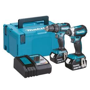 Makita DLX2283TJ 18V Brushless Combi Drill & Impact Driver (2x 5Ah)