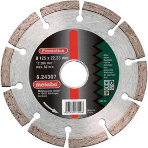 Metabo Universal Diamond Cutting Disc 125mm x 22.23mm