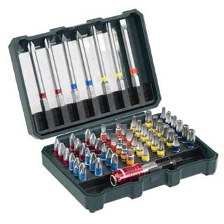 Metabo 56-Piece Screwdriver Bit Set