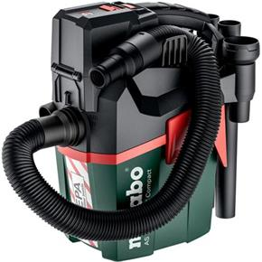 Metabo AS 18 HEPA PC Compact 18V Vacuum Cleaner (Naked)