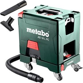 Metabo AS18LPC 18V L Class Extractor (Naked) with Trolley