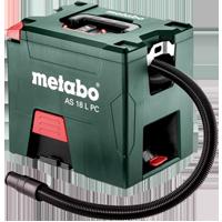 Metabo Cordless Dust Extractors