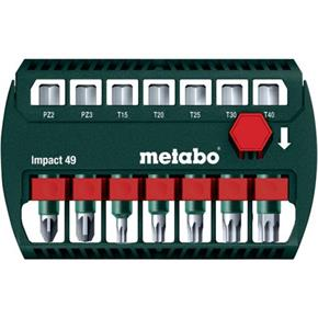 Metabo Bit-Box Impact 49 Screwdriver Bit Set (7pcs)