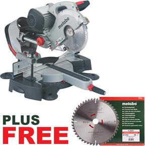 Metabo KGS254i Plus Mitre Saw with Induction Motor 240v