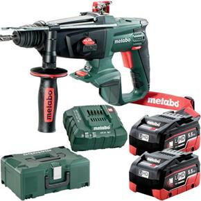 Metabo KHA18LTX 18V SDS Drill (2x 5.5Ah LiHD, MetaLoc Box)