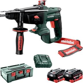 Metabo KHA 18 LTX 18V SDS Drill (2x 5.5Ah LiHD)
