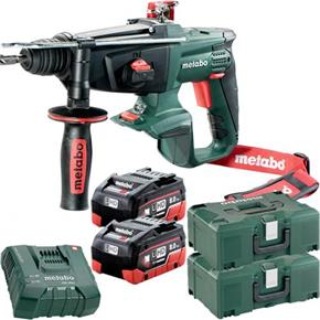 Metabo KHA18LTX 18V SDS Drill (2x 8Ah LiHD, MetaLoc Box)