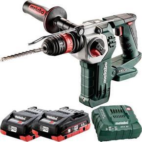 Metabo KHA18LTXBL24 Quick 18V Brushless SDS Drill (2x 4Ah LiHD)
