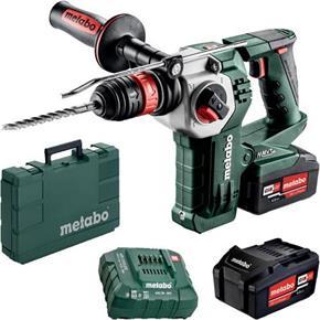 Metabo KHA18LTXBL24 Quick 18V Brushless SDS Drill (2x 4Ah)
