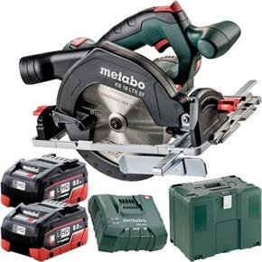 Metabo KS18LTX57 18V 165mm Circular Saw (2x 8Ah LiHD, MetaLoc Box)