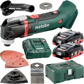 Metabo MT18LTX 18V Multi-Cutter (2x 4Ah LiHD, Accs, MetaLoc Box)