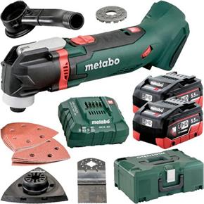 Metabo MT18LTX 18V Multi-Cutter (2x 5.5Ah LiHD, Accs, MetaLoc Box)