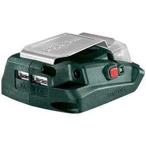 Metabo 12V/USB Charger Adaptor + LED Light (14.4V/18V Compatible)