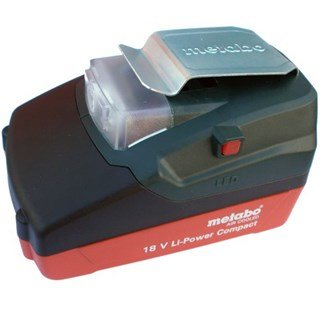 Metabo PA14.4-18 LED USB Adaptor + 1.3Ah Battery